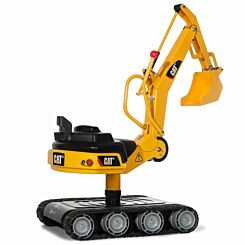 Rolly Toys CAT Metal Ride On Excavator with Tank Tracks