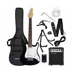 Rocket 3/4 Electric Guitar Starter Kit Black