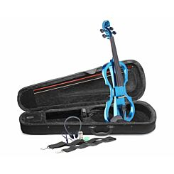 Stagg EVN X Electric Violin Set Blue