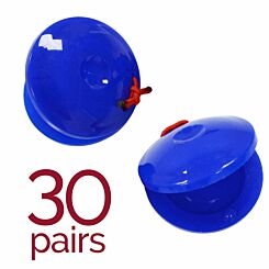 A-Star Plastic Finger Castanets Pack of 30 Pairs