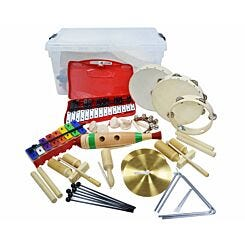 A-Star KS2 25 Player Percussion Pack with Storage Box