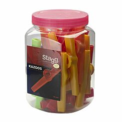 Stagg Colourful Kazoos Pack of 30
