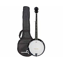 Rocket Western 5 String Bluegrass Banjo with Gig Bag