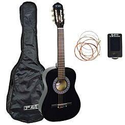 3rd Avenue 1/2 Size Guitar Pack Black