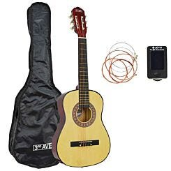 3rd Avenue 1/2 Size Guitar Pack Natural