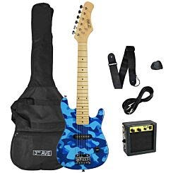 3rd Avenue Junior Electric Guitar Pack Camouflage