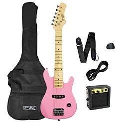 3rd Avenue Junior Electric Guitar Pack Pink