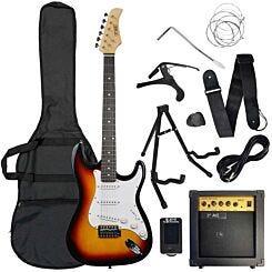 3rd Avenue Electric Guitar Pack Sunburst