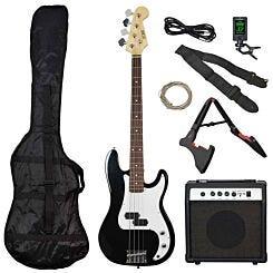 3rd Avenue Rocket Electric Bass Pack Black