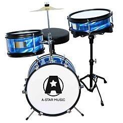 A-Star Rocket 3 Piece Junior Drum Kit