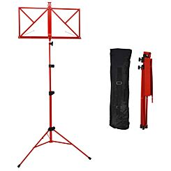 A-Star Rocket Folding Music Stand Red