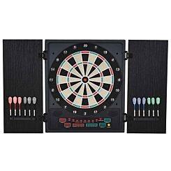 Homcom Electronic Dartboard with LED Scoreboard