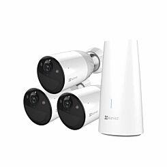 EZVIZ BC1 Trio Smart Home Battery Security Camera Kit