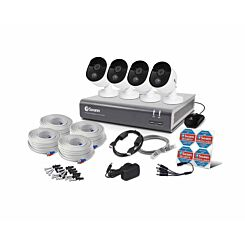 Swann DVR4 4575 8 Channel 1TB DVR with 4 x 1080p HD Cameras