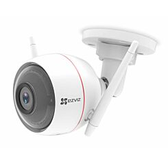 EZVIZ Full HD Wi-Fi Outdoor Smart Home Security Camera with Siren and Strobe Light