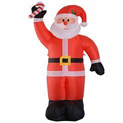 Inflatable Light Up Christmas Santa Claus 240cm