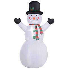 Inflatable Light Up Christmas Snowman 180cm
