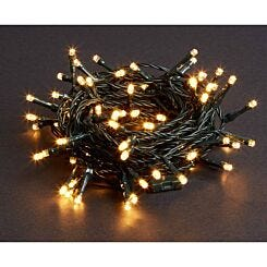 100 LED String Lights Mains Operated Warm White