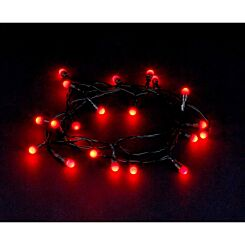 20 LED Berry String Lights Battery Operated Red