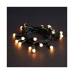 20 LED Berry String Lights Battery Operated White