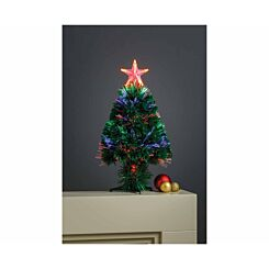 Penrith Fibre Optic Christmas Tree with Top Star 45cm