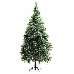 Snow Tipped Artificial Christmas Tree 210cm