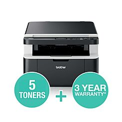 Brother DCP 1612W Mono Laser All In One Printer All in Box