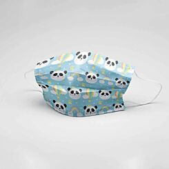 Childrens Reusable Mask Panda Design