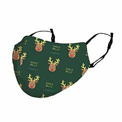 Legami Reusable Festive Face Rudolph