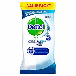 Dettol Antibacterial Surface Cleanser Wipes 72s