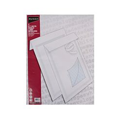 Ryman Mail K/7 Tuff Bubble Bags 350x470mm Polyethylene Peel & Seal Pack of 5