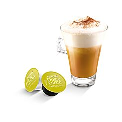 Nescafe Dolce Gusto Cappuccino and Creamer Capsules Pack of 48