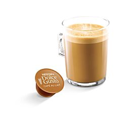 Nescafe Dolce Gusto Cafe Au Lait Capsules Pack of 48