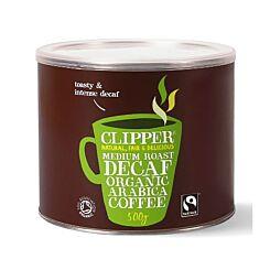 Clipper Organic Medium Roast Arabica Coffee Decaffeinated 500g