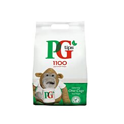 PG Tips 1 Cup Pyramid Tea Bags Pack of 1100