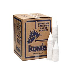 Cone Water Cups 4 fl oz Pack of 5000