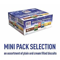 Hill Biscuits Mini Pack Selection Pack of 100