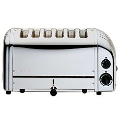 Dualit 6 Slice Toaster Polished Stainless Steel