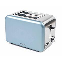 Salter Metallic Polaris 2-Slice Toaster 850W