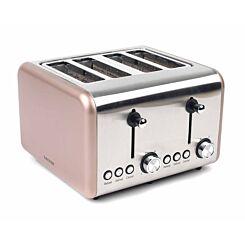 Salter Metallic Polaris 4 Slice Toaster 1500W