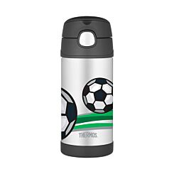 Thermos FUNtainer Straw Bottle 355ml Football