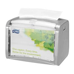 Tork Xpressnap Tabletop Napkin Dispenser Silver