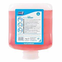 Deb Refresh FOAM Rose Wash 1 Litre Cartridge Hand Sanitiser Pack of 6