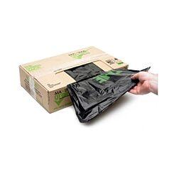 Maxima Green Light Duty Refuse Sacks Box of 200