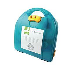 Q-Connect Eye Wash Kit with 2 x 500ml Eyewash
