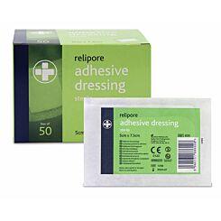 Relipore Sterile Dressing 5cm x 7.5cm Box 50