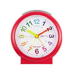 Acctim LuLu Time Teaching Alarm Clock Red