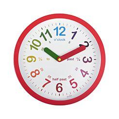 Acctim Lulu Time Teaching Wall Clock