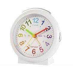 Acctim LuLu Time Teaching Alarm Clock White