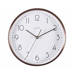 Acctim Ava Metal Clock 15cm